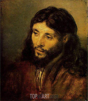 Christ, 1656 | Rembrandt | Painting Reproduction