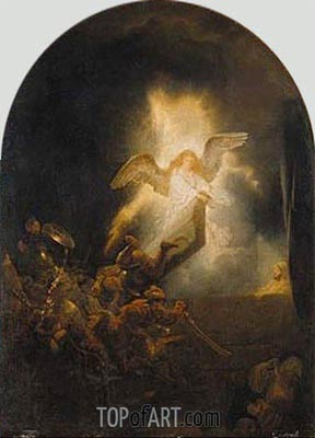 Resurrection of Christ, c.1635 | Rembrandt| Painting Reproduction