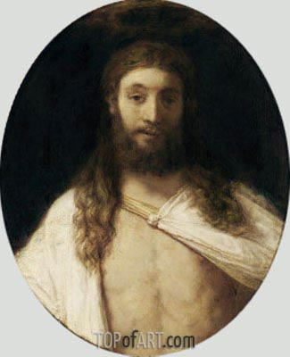 The Risen Christ, 1661 | Rembrandt | Painting Reproduction