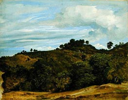 Landscape near Olevano | Heinrich Reinhold | Painting Reproduction
