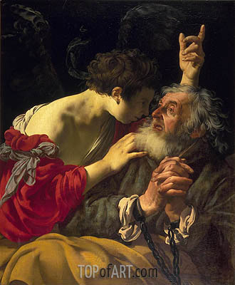 Hendrick ter Brugghen | The Deliverance of Saint Peter, 1624
