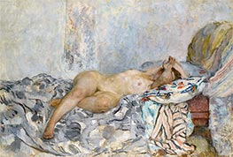 Odalisque, c.1925 by Henri Lebasque | Painting Reproduction