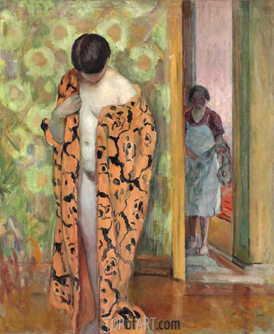 The Japanese Bathrobe, c.1926 | Henri Lebasque | Painting Reproduction