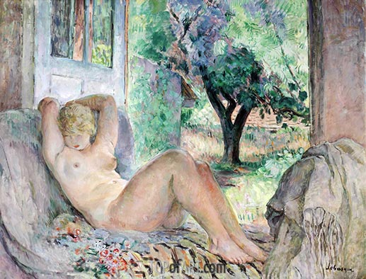Grand Nude (Marinette), 1934 | Henri Lebasque | Painting Reproduction