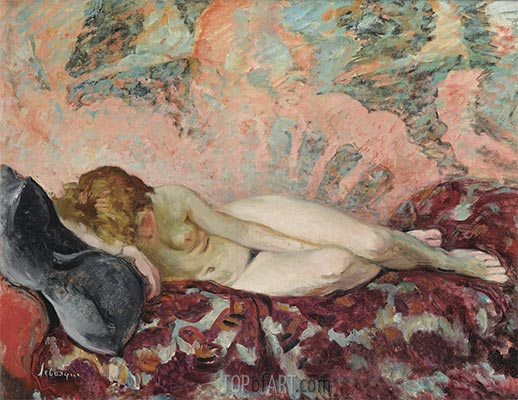 The Rest of the Model, c.1931/32 | Henri Lebasque | Painting Reproduction