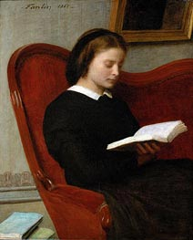 The Reader | Fantin-Latour | outdated