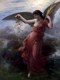 Immortality, 1889 by Fantin-Latour | Painting Reproduction