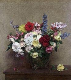 The Rosy Wealth of June, 1886 von Fantin-Latour | Gemälde-Reproduktion