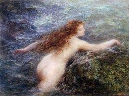 Naiad, c.1896 von Fantin-Latour | Gemälde-Reproduktion