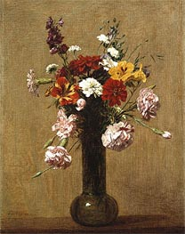 Small Bouquet, 1891 by Fantin-Latour | Painting Reproduction