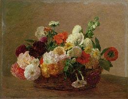 Blumenstilleben, undated von Fantin-Latour | Gemälde-Reproduktion