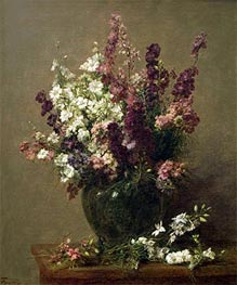 Still Life with Imperial Delphiniums | Fantin-Latour | veraltet