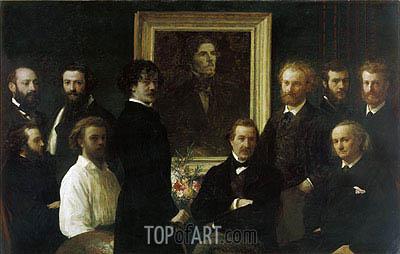 Fantin-Latour | Homage to Delacroix, 1864
