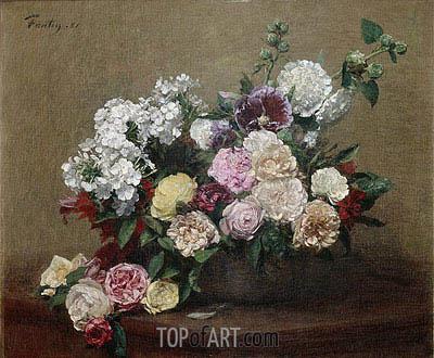 Fantin-Latour | Roses, 1881