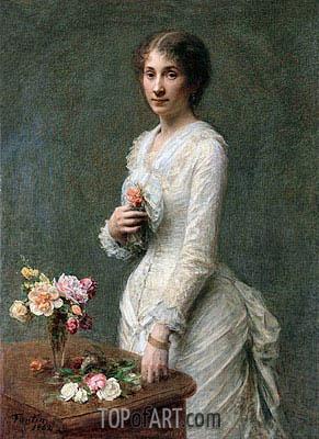 Fantin-Latour | Madeleine Lerolle, 1882