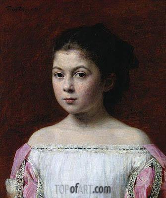 Fantin-Latour | Marie-Yolande de Fitz-James, 1867