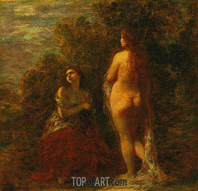 Dawn, c.1883 | Fantin-Latour| Painting Reproduction