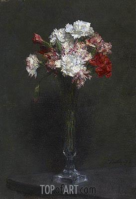 Fantin-Latour | Oeillets, 1872
