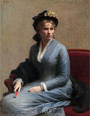 Charlotte Dubourg, 1882 | Fantin-Latour | Painting Reproduction