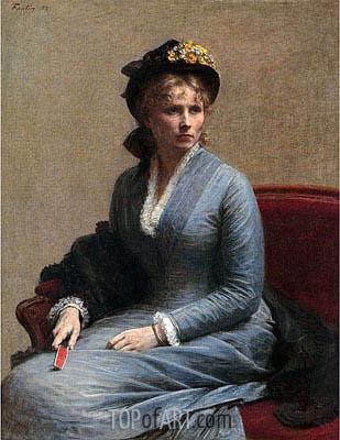 Fantin-Latour | Charlotte Dubourg, 1882
