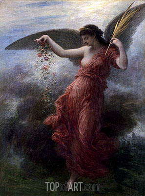 Immortality, 1889 | Fantin-Latour| Painting Reproduction
