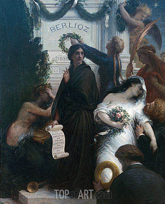 Fantin-Latour | Anniversary of Berlioz, 1878