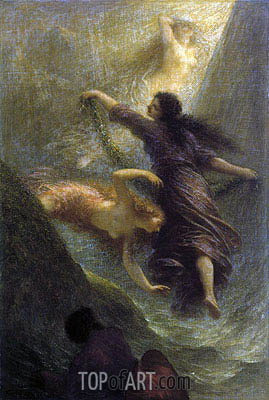 Rheingold (First Scene), 1888 | Fantin-Latour | Painting Reproduction