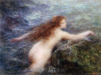 Fantin-Latour | Naiad, c.1896
