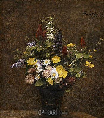 Fantin-Latour | Wild Flowers, 1879