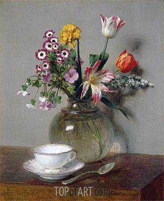 Fantin-Latour | Spring Bouquet, 1865