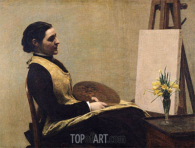 The Study, 1883 | Fantin-Latour | Painting Reproduction