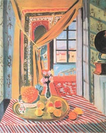 Interior with a Photograph, 1924 von Matisse | Gemälde-Reproduktion