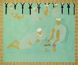 Arabian Coffee House, 1913 by Matisse | Painting Reproduction