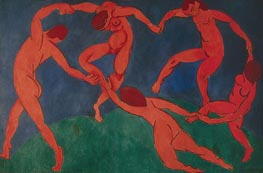 The Dance, c.1909/10 von Matisse | Gemälde-Reproduktion