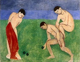 A Game of Bowls, 1908 von Matisse | Gemälde-Reproduktion