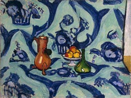 Still Life with Blue Tablecloth, 1909 von Matisse | Gemälde-Reproduktion