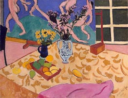 Still Life with The Dance, 1909 von Matisse | Gemälde-Reproduktion