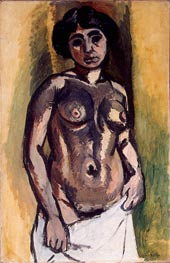 Nude (Black and Gold), 1908 von Matisse | Gemälde-Reproduktion