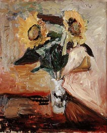 Sunflowers in a Vase | Matisse | Painting Reproduction