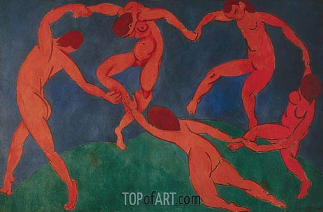 The Dance, c.1909/10 | Matisse | Painting Reproduction