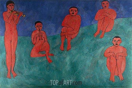 Matisse | Music, 1910