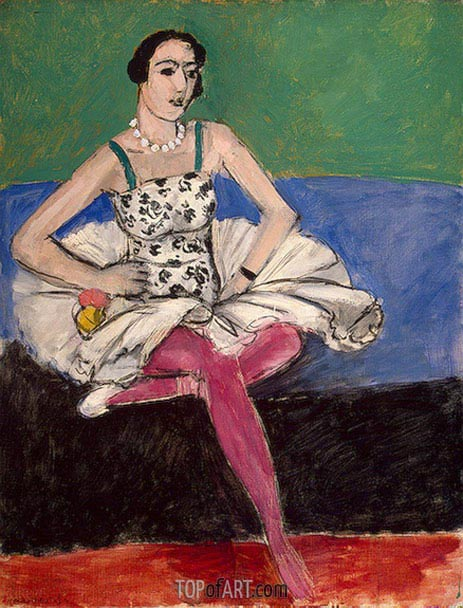 Ballerina, c.1927 | Matisse | Painting Reproduction