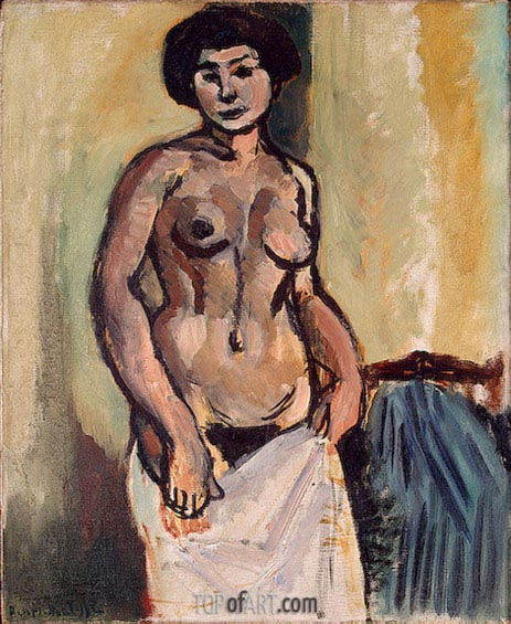 Nude Study, 1908 | Matisse | Painting Reproduction