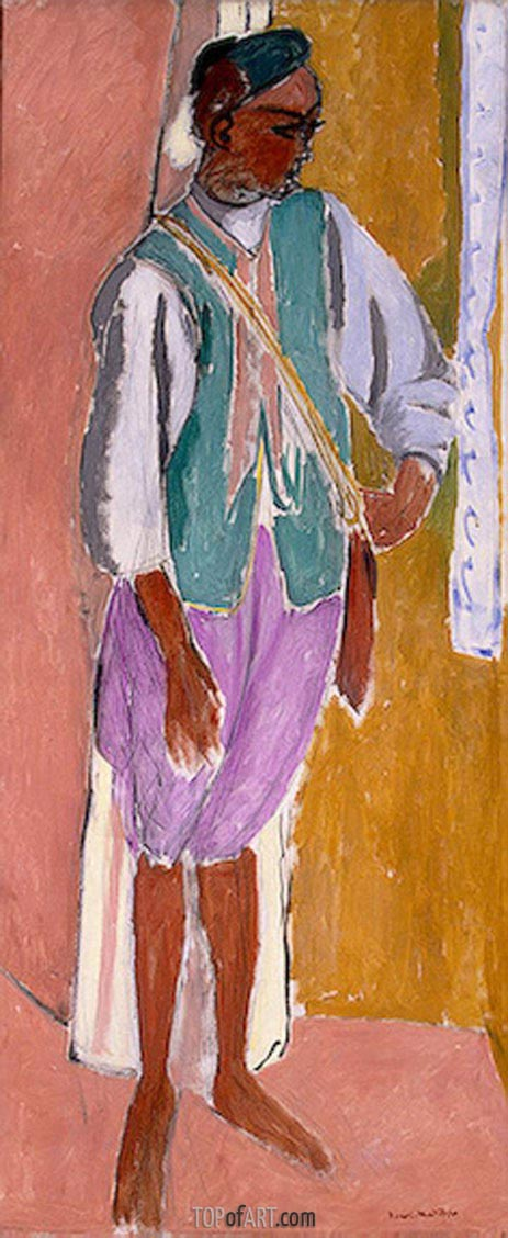 Matisse | The Moroccan Amido, 1912