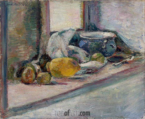 Matisse | Blue Pot and Lemon, 1897