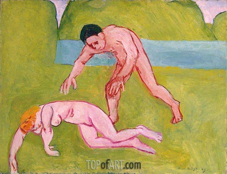 Nymph and Satyr, 1908 | Matisse | Painting Reproduction