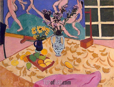 Matisse | Still Life with The Dance, 1909