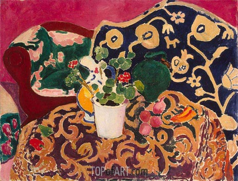 Spanish Still Life, c.1910/11 | Matisse | Painting Reproduction