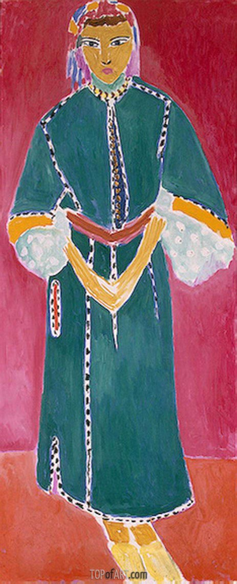 Zorah Standing, 1912 | Matisse | Painting Reproduction