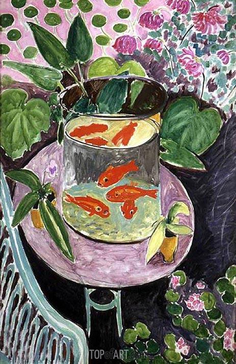 Matisse | Goldfish, c.1911/12